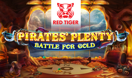 Red Tiger Gaming Announces the Release of Pirates Plenty Battle for Gold Slot Game