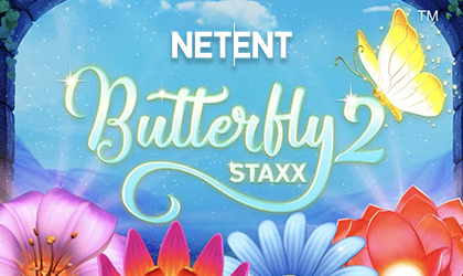 NetEnt Goes Hot with the Unveiling of a New Staxx Game Titled Butterfly Staxx 2