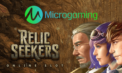 Microgaming Goes Live with a New Adventure Slot Game Titled Relic Seekers