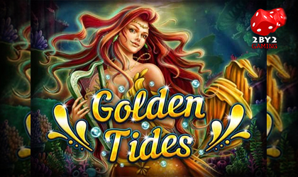 2BY2 Gaming Brings Has Announced the Release of Golden Tides Slot Game