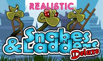 Realistic Launches Snakes and Ladders Deluxe Slot in a 3D Virtual Cabinet