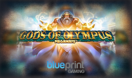 Blueprint Gaming Brings On the Thunder from Above with Gods of Olympus Megaways