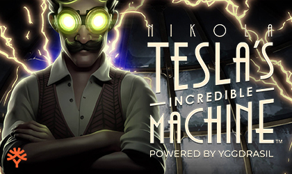 YGS Masters Release the New Nikola Teslas Incredible Machine Powered by Yggdrasil