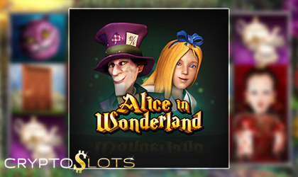 Cryptoslots Announces the Release of their New Slot Game Titled Alice in Wonderland