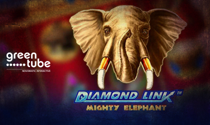 Greentube Brings the Safari to Your Home with Diamond Link Mighty Elephant
