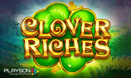 Playson Invites All to Discover its Clover Riches Slot