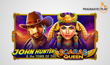 Pragmatic Play Releases John Hunter and The Tomb Of The Scarab Queen