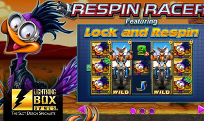 Lightning Box Burns Rubber on Hot Tarmac with Respin Racer Slot Release