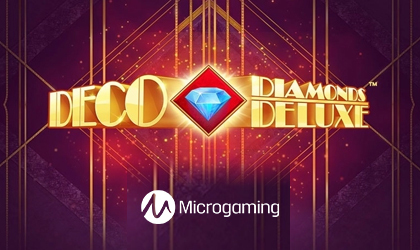 Microgaming Takes on Vintage Theme with Deco Diamonds Deluxe Release