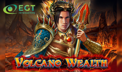 EGT Interactive Melts the Reels with Hot Volcano Wealth Release