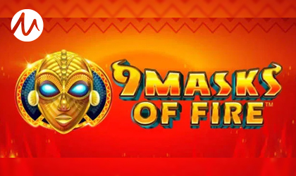 Microgaming Turns Up the Fahrenheit with the Release of 9 Masks of Fire