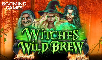 Booming Games Releases Witches Wild Brew Slot in Time for Halloween