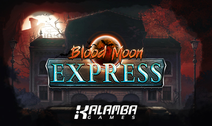 Kalamba Games Brings on the Suspense with Blood Moon Express Slot Release
