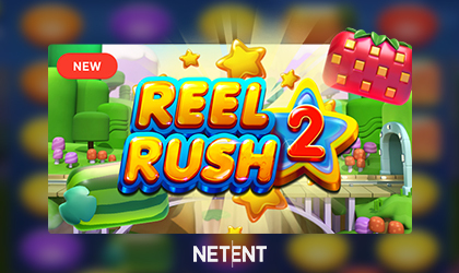 NetEnt Goes Live with the Reel Rush 2 and Brings Back the Fun