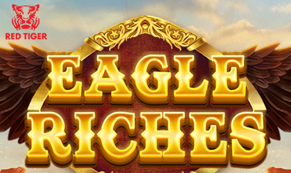 Red Tiger Gaming Starts Countdown Clock on Eagle Riches Reel Title