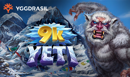 Yggdrasil Goes Sky High with the Release of New Slot Titled 9K Yeti