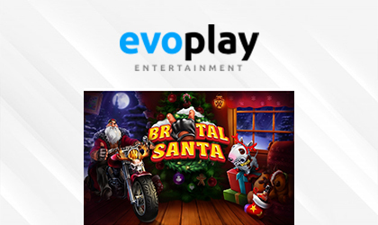 Evoplay Entertainment Takes Players on a Naughty Holiday Adventure in Brutal Santa