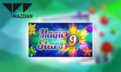 Wazdan Releases the Highly Anticipated Magic Stars 9 Slot to Expand its Popular Series