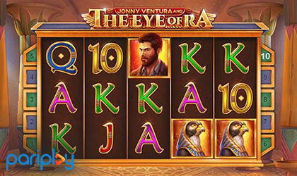 Pariplay Releases Another Egyptian Themed Adventure Titled Jonny Ventura and The Eye of Ra