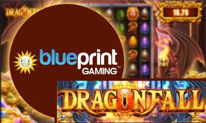 Temperature Rises as Blueprint Gaming Rolls out Firesome Dragonfall Slot
