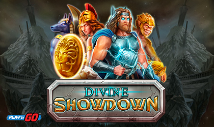 Behold the Epic Battle Between Mighty Gods in Divine Showdown from Play n GO