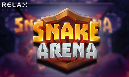 Fight the Slithering Serpents in the All New Snake Arena Slot by Relax Gaming