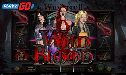 Play n GO Goes on Sinister Adventure with Release of Wild Blood II